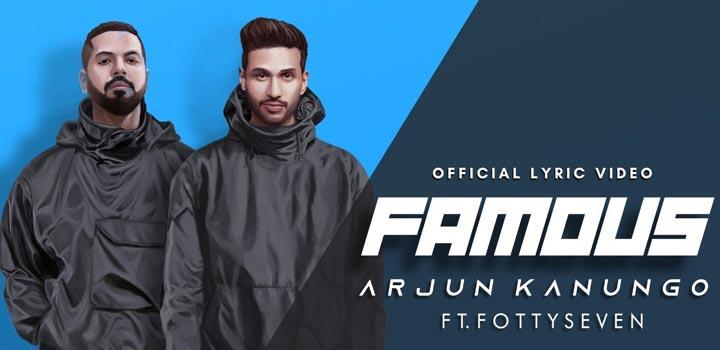 Famous Lyrics by Arjun Kanungo