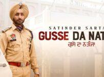 Gusse Da Nateeja Lyrics by Satinder Sartaaj