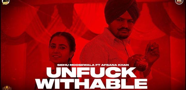 Unfuckwithable Lyrics by Sidhu Moose Wala