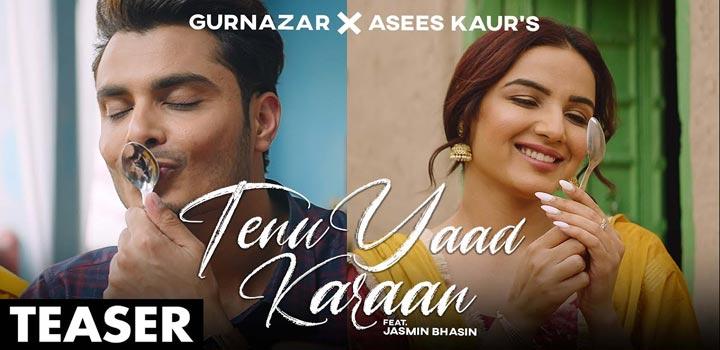 Tenu Yaad Karaan Lyrics by Gurnazar