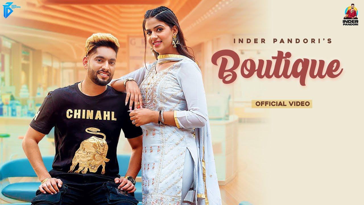 Boutique Lyrics by Inder Pandori