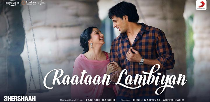 Raataan Lambiyan Lyrics from Shershaah by Jubin Nautiyal