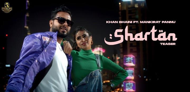 Shartan Lyrics by Khan Bhaini