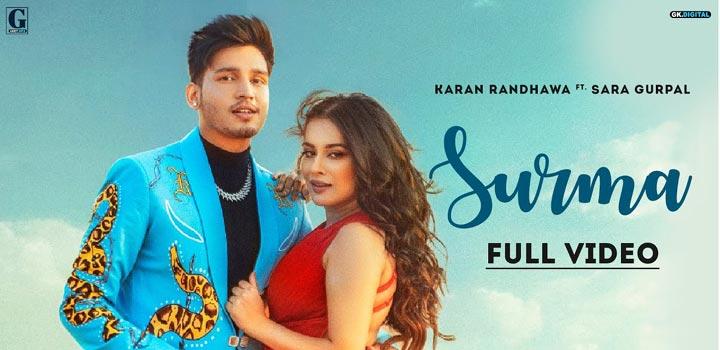 Surma Lyrics by Karan Randhawa
