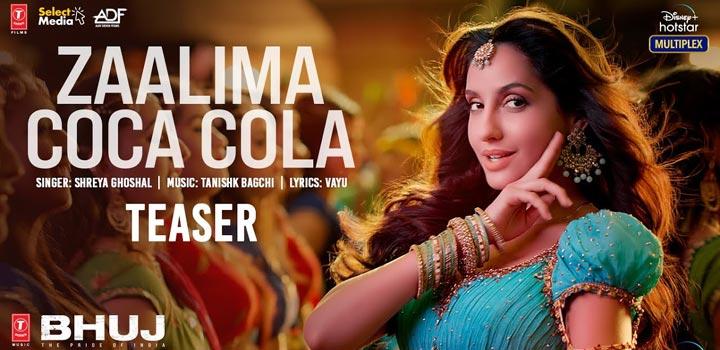 Zaalima Coca Cola Lyrics from Bhuj
