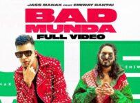 Bad Munda Lyrics by Jass Manak and Emiway