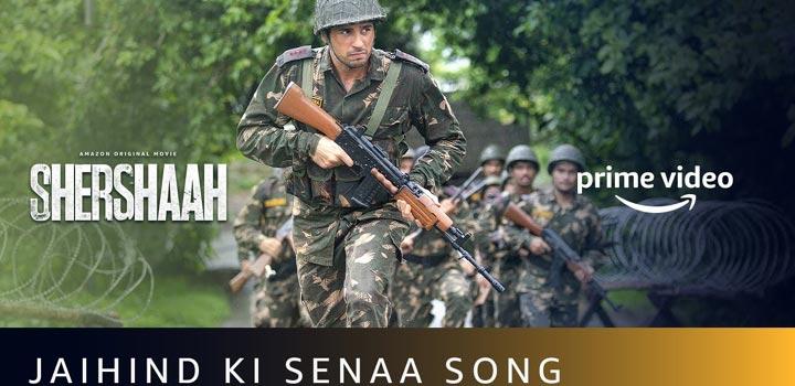 Jai Hind Ki Sena Lyrics from Shershaah