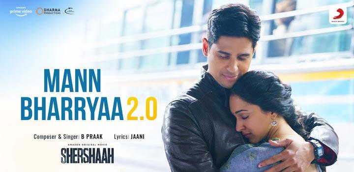 Mann Bharrya 2.0 Lyrics from Shershaah