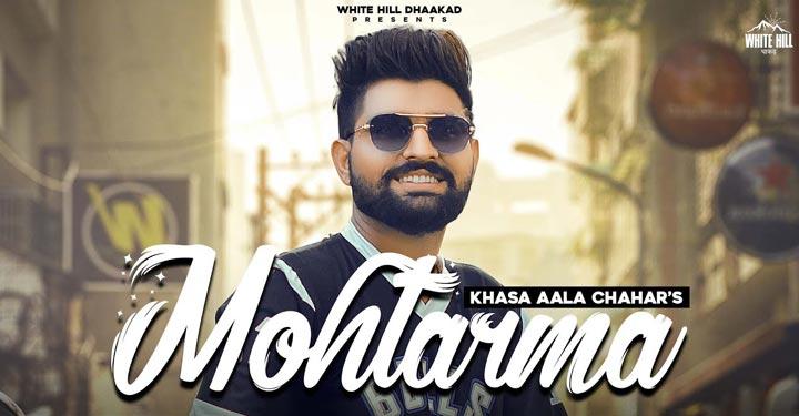 Mohtarma Lyrics by Khasa Aala Chahar