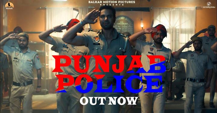 Punjab Police Lyrics from Thana Sadar