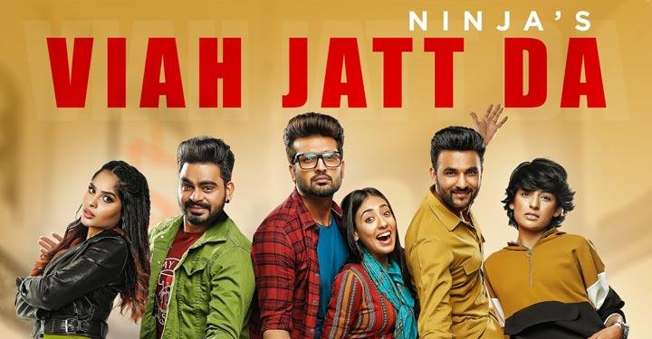 Viah Jatt Da Lyrics by Ninja from Yaar Anmulle Returns