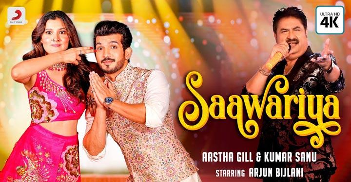 Saawariya Lyrics by Aastha Gill and Kumar Sanu